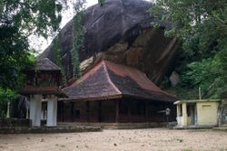 Hindagala Cave Temple